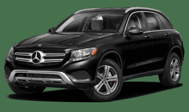 Black 2019 Mercedes-Benz GLC Sideface