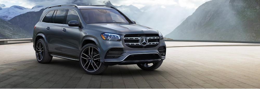 Gray Mercedes-Benz GLS