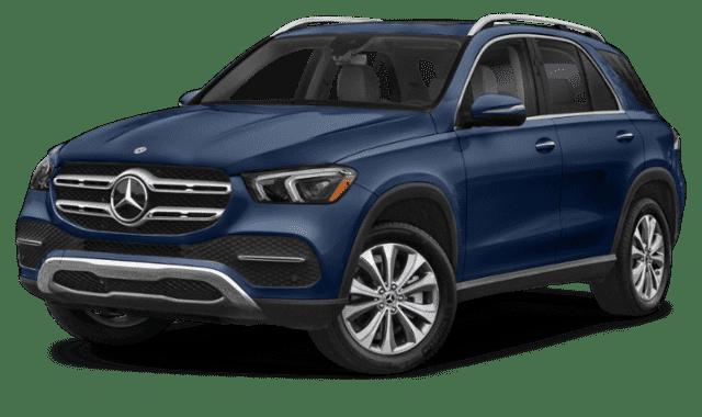 Blue 2020 Mercedes-Benz GLE