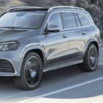 Dark Grey Mercedes-Benz GLS