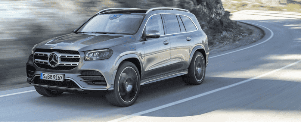 Dark Grey Mercedes-Benz GLS