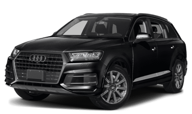 Black 2019 Audi Q7