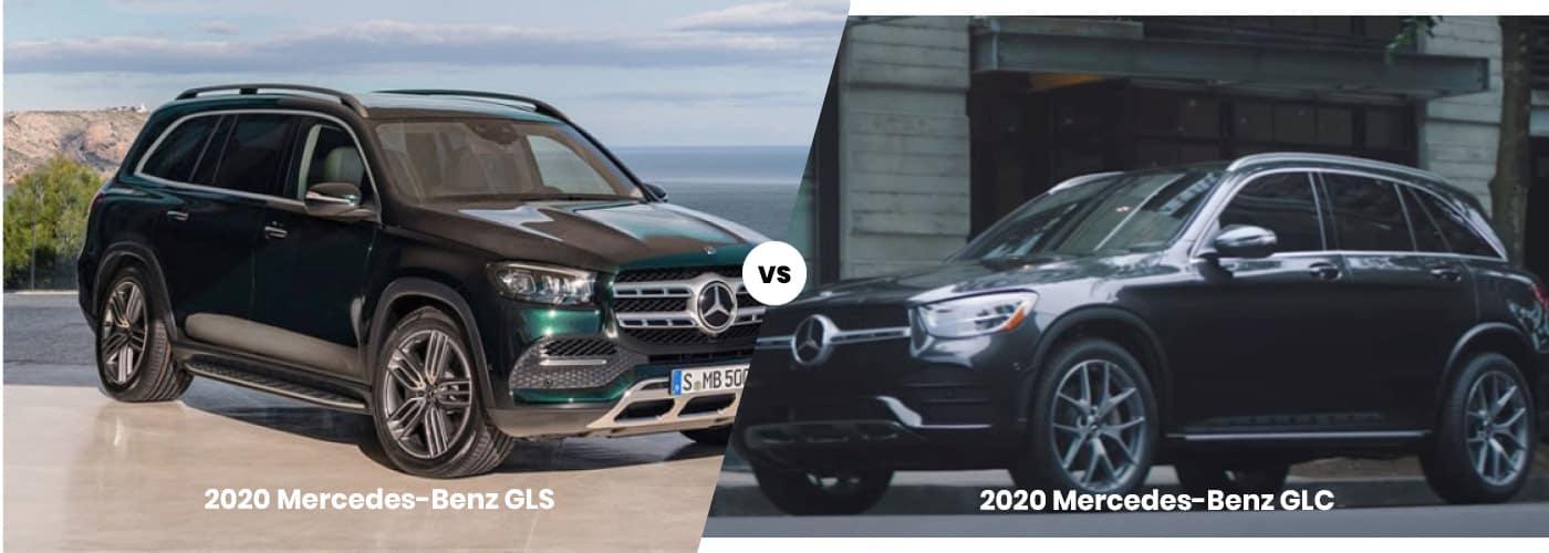 2020 Mercedes-Benz GLS vs 2020 Mercedes-Benz GLC