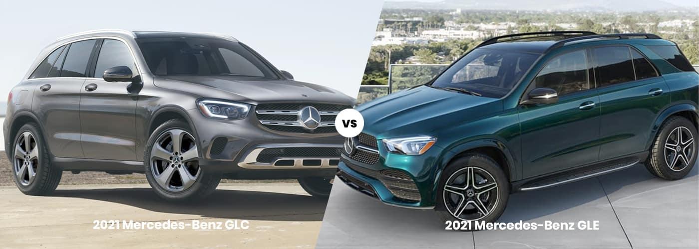 Mercedes-Benz GLC vs GLE