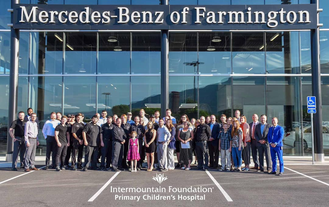 Mercedes Benz Of Farmington >> Mercedes Benz Of Farmington Sale Benefits Primary Children S