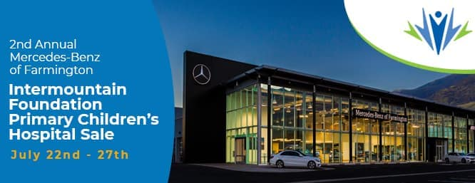 Mercedes Benz Of Farmington >> 2019 Primary Children S Hospital Sale Mercedes Benz Of