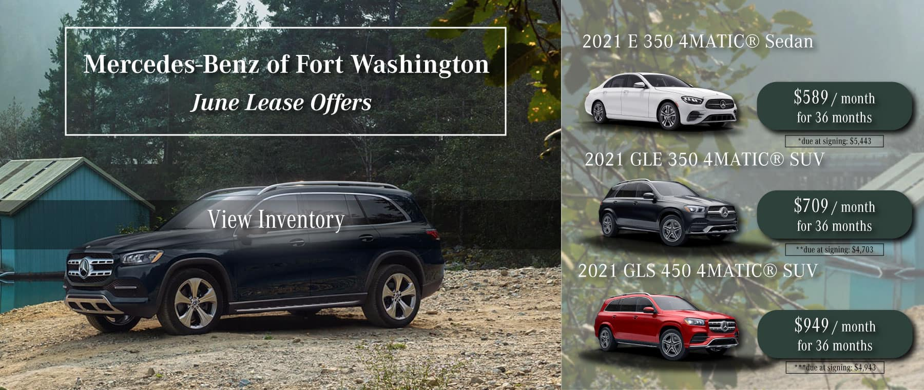 mercedes-benz of fort washington 2021 new lease specials