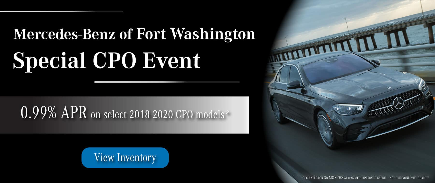 Mercedes-Benz of Fort Washington mercedes certified pre owned special event