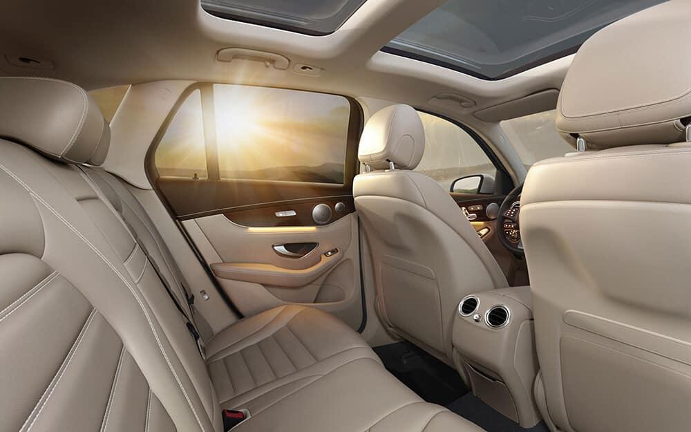 2018 Mercedes-Benz GLC 300 Interior Seating