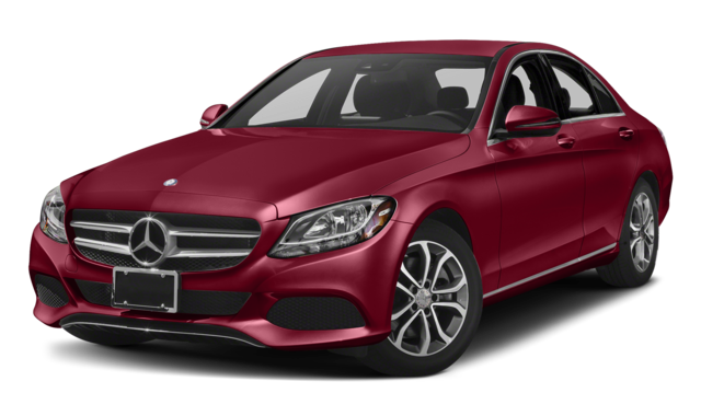 Red 2018 Mercedes-Benz C-Class