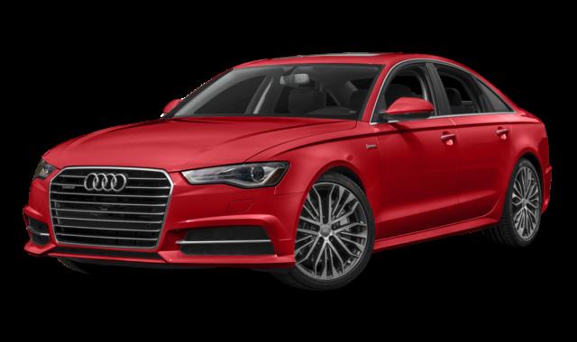Red Audi A6