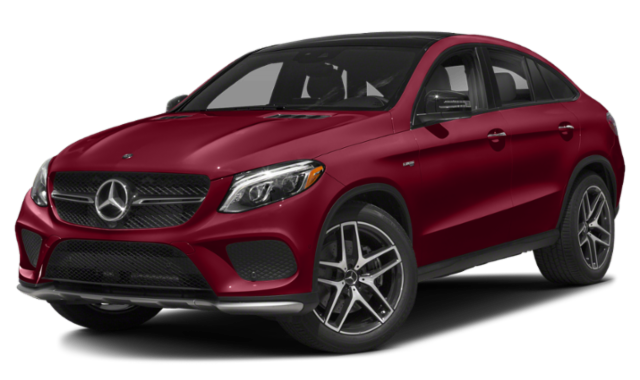 Red Mercedes-Benz GLE