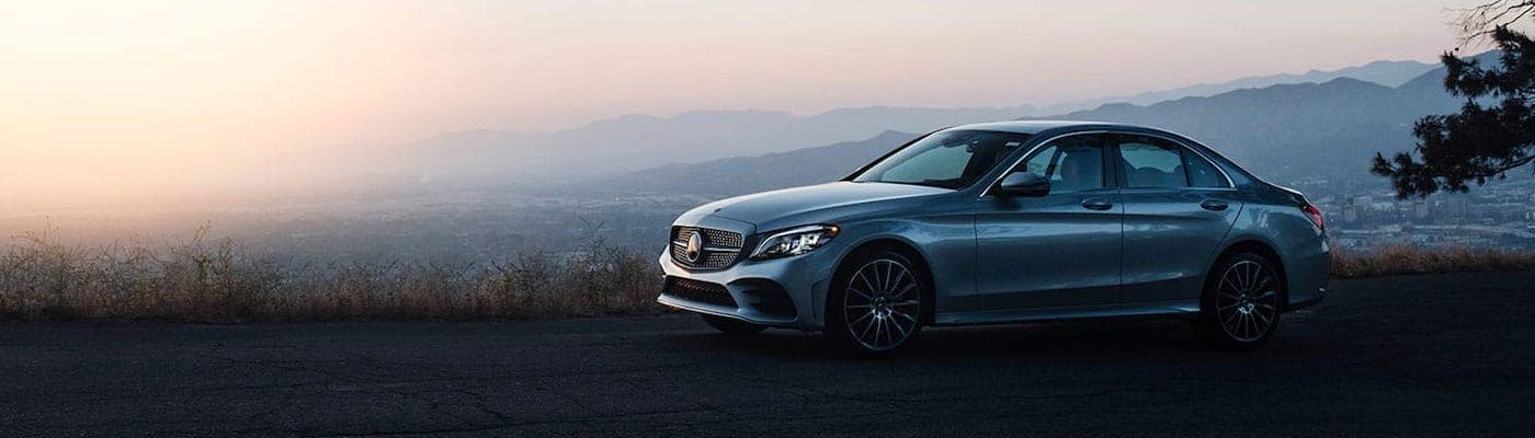 2019 mercedes-benz c-class sedan silver