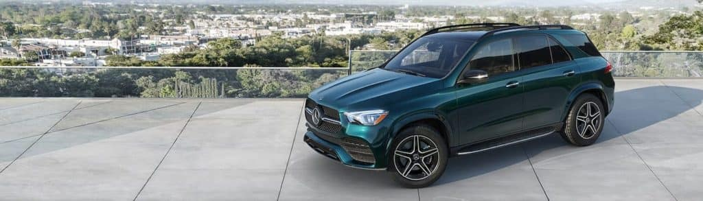 2020 mercedes-benz gle green exterior