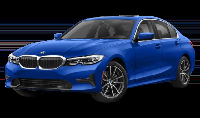 2019 bmw 3-series blue
