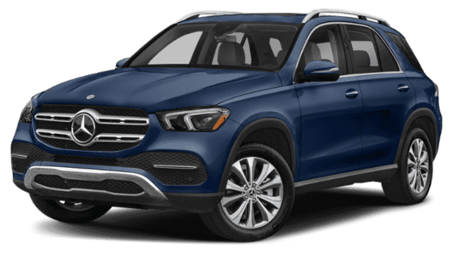 Blue 2020 Mercedes-Benz GLE