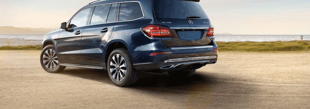Navy Blue Mercedes-Benz GLS