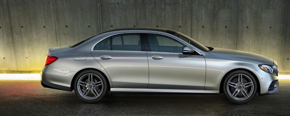 Light Gray Mercedes-Benz E_Class