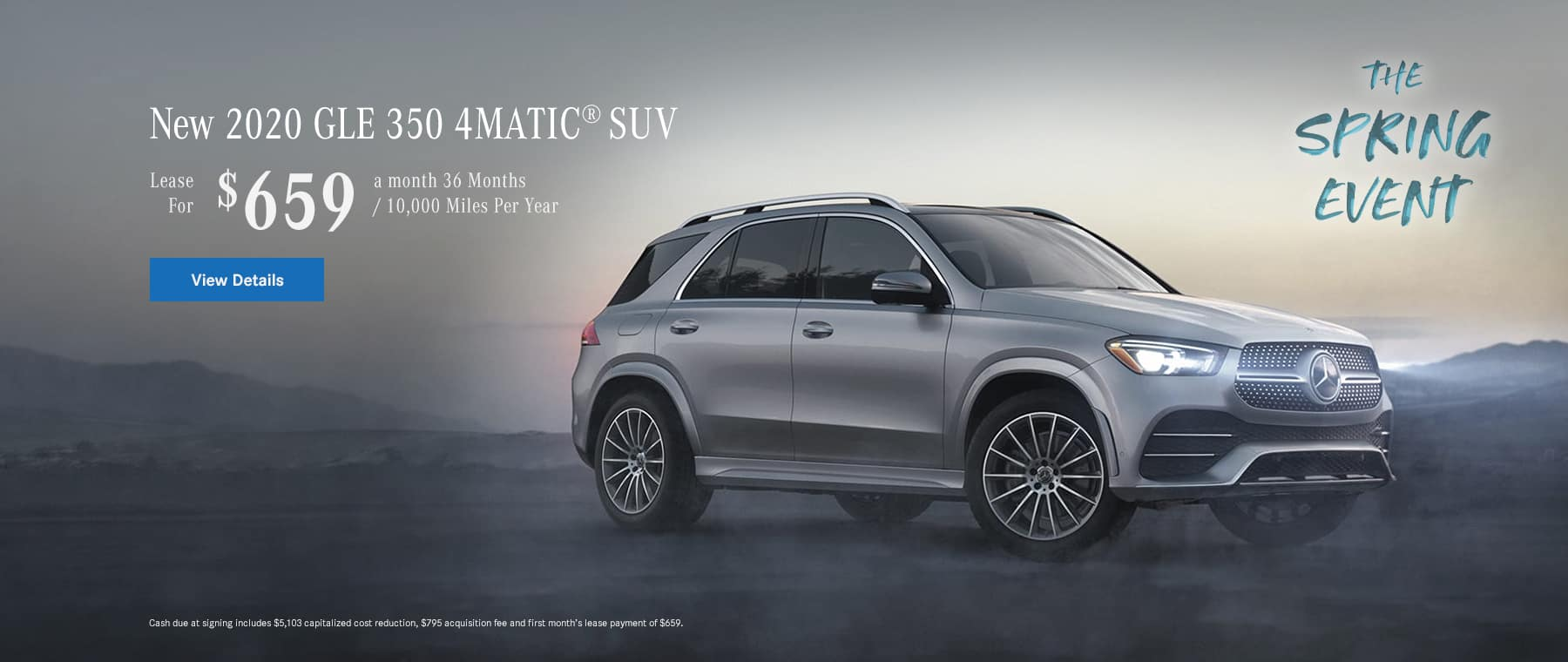 GLE 350 Lease offer