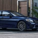 Metallic Blue Mercedes-Benz C-Class