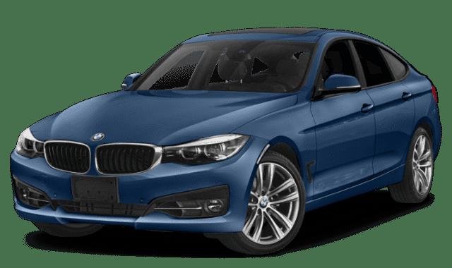Blue 2019 BMW 3 Series