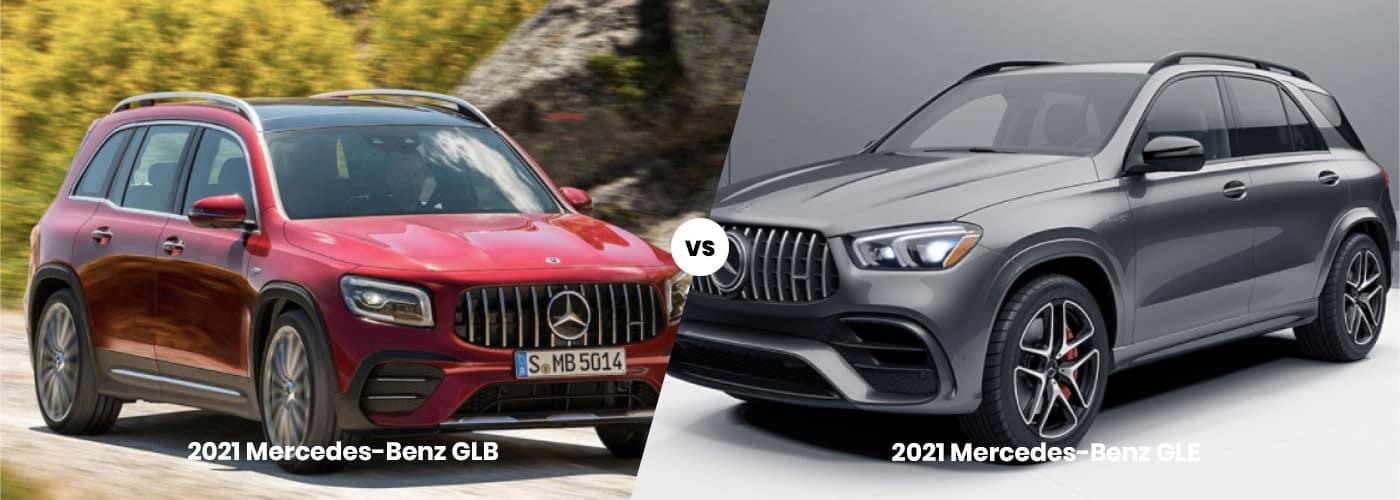 Mercedes-Benz GLB vs GLE