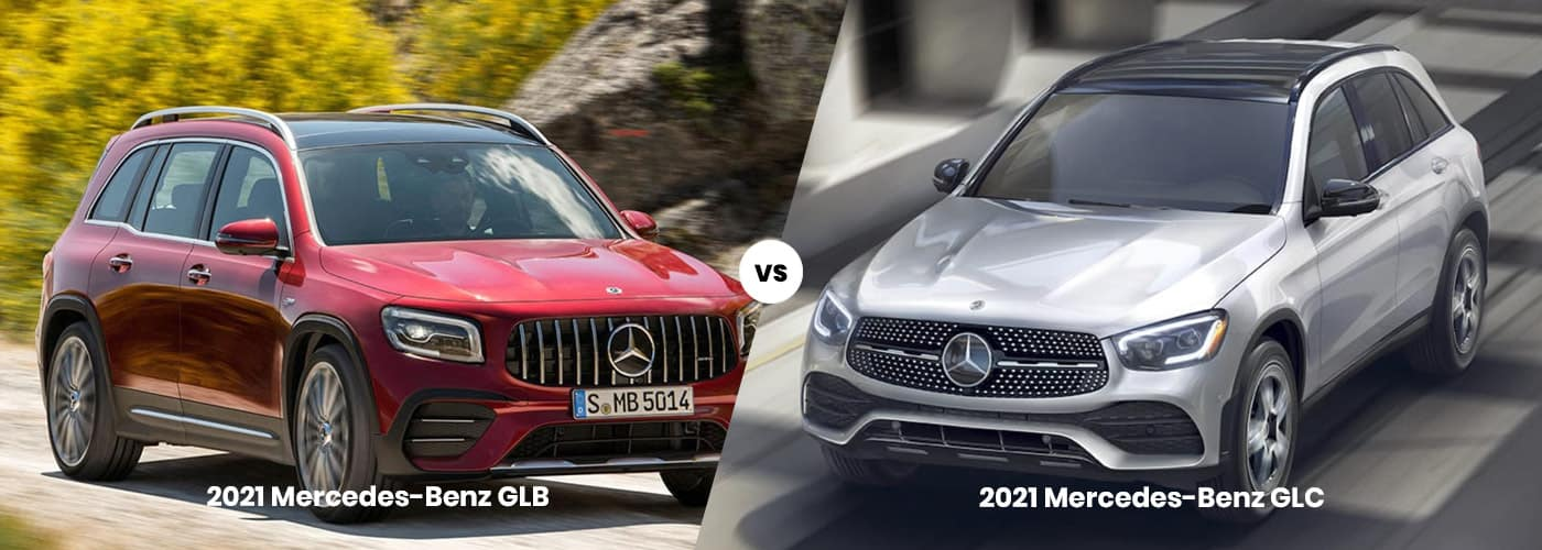 Mercedes-Benz GLB vs. GLC