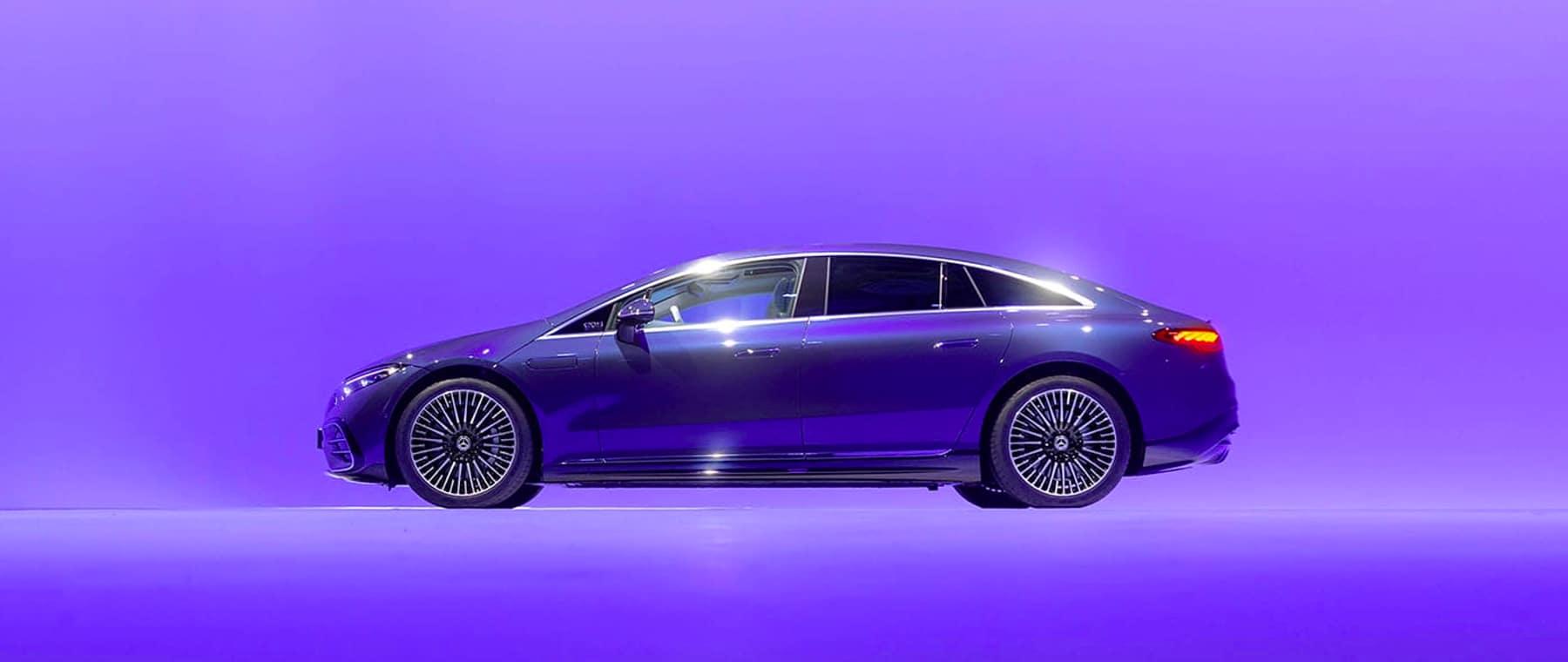 All New 2022 EQS Sedan