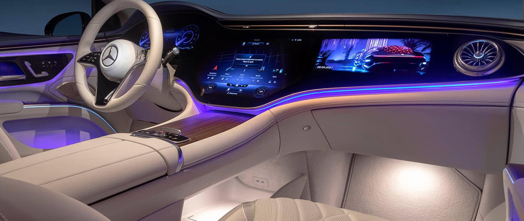 The All New 2022 EQS Interior