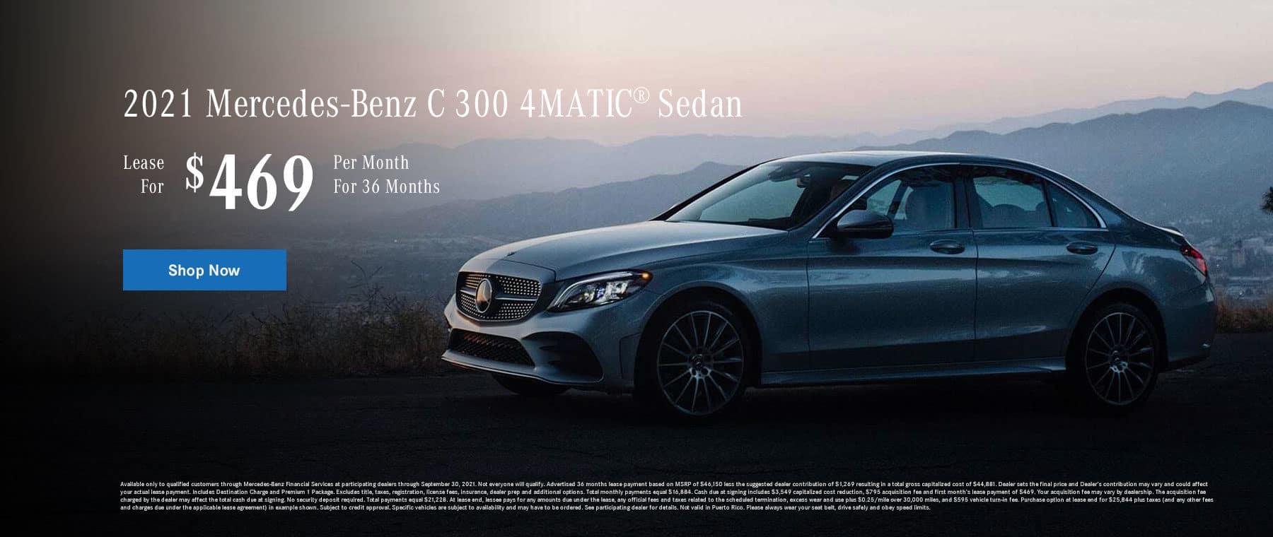 2021 Mercedes-Benz C 300 4MATIC® Sedan 2021 Mercedes-Benz C 300 4MATIC® Sedan