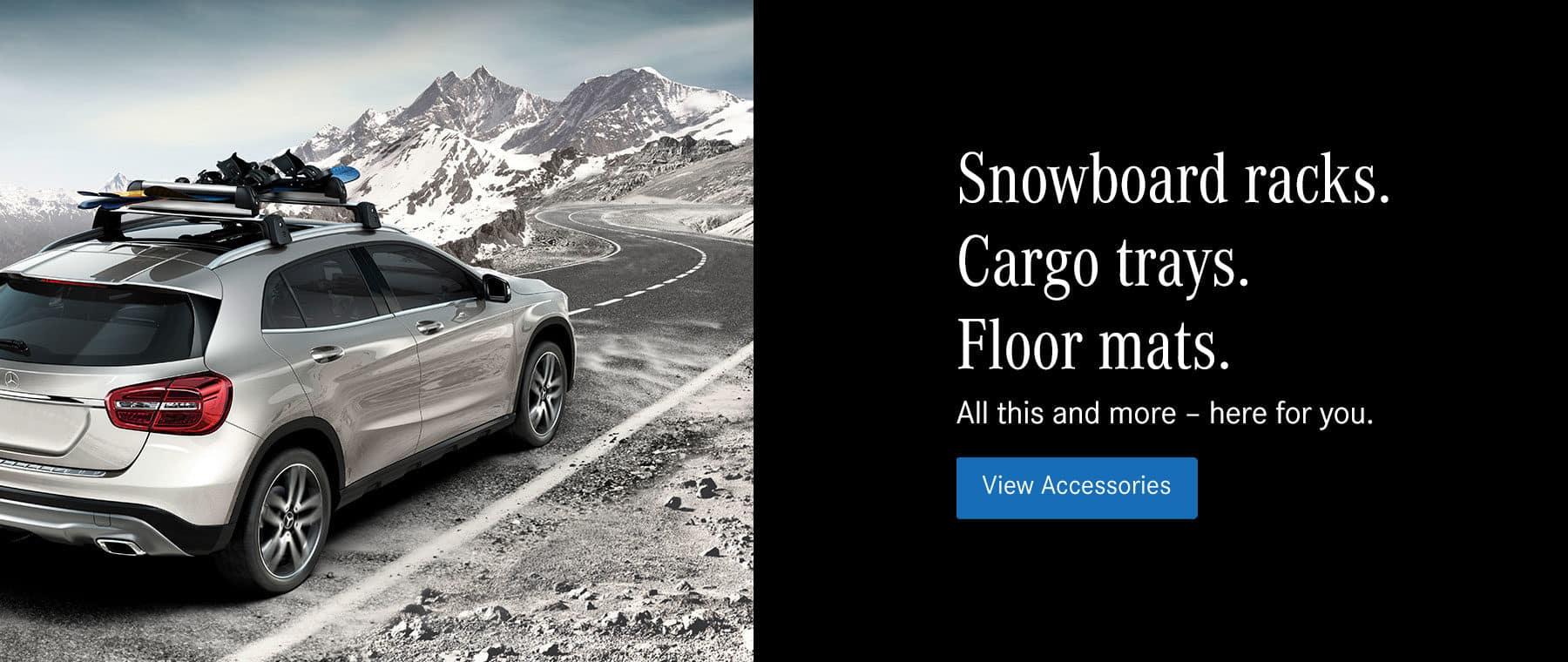Mercedes-Benz of Lynnwood genuine mercedes winter acecssories