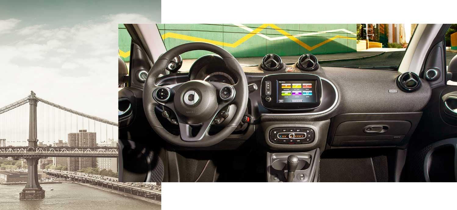 Bridge and Mercedes-Benz Dashboard