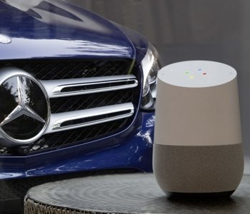 Mercedes, Google Home