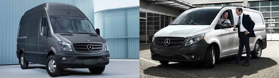 Mercedes-Benz Sprinter vs Metris Cargo Vans