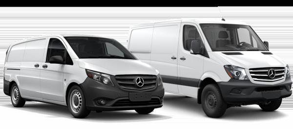 2018 Mercedes-Benz Metris and Sprinter Vans