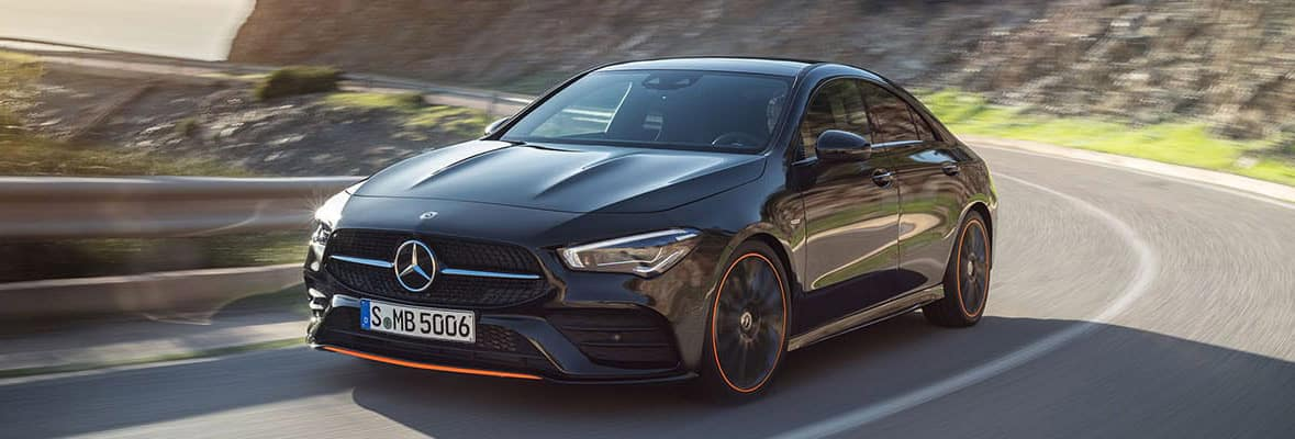 2020 CLA - Driving on road