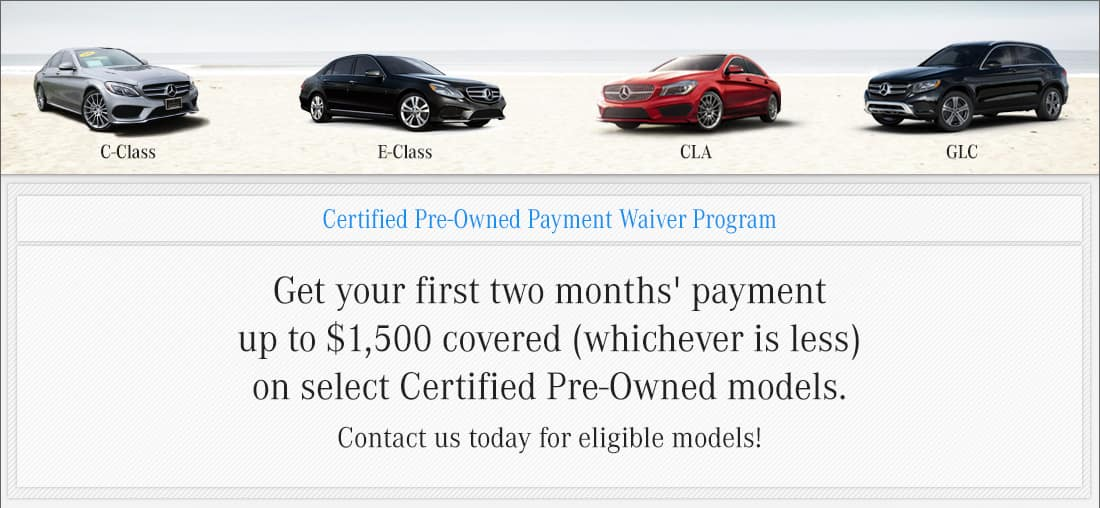 CPO Payment Waiver Program