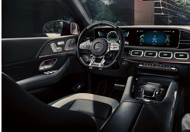 2021 GLE - Console Display