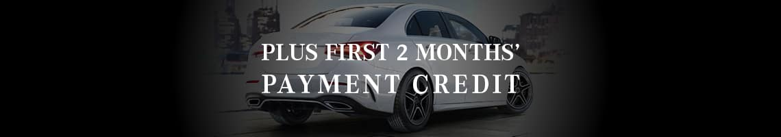 First 2 Months' Payment Credit