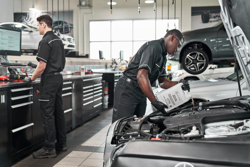 Mercedes-Benz Maintenance in Mount Pleasant SC