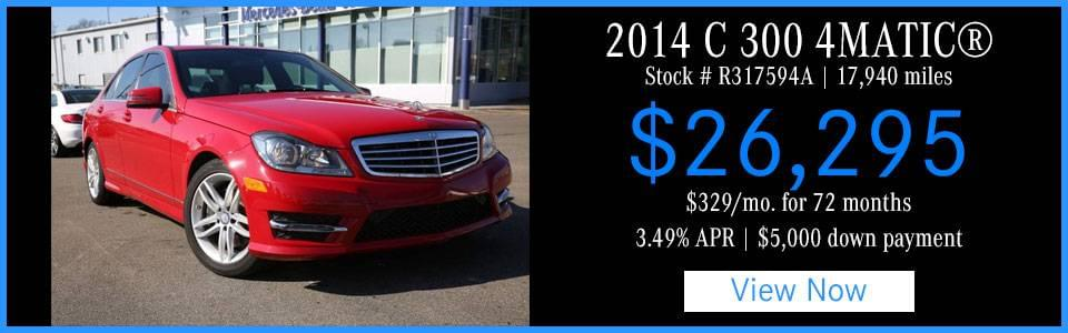 March New Pre Owned Mercedes Benz Lease Specials