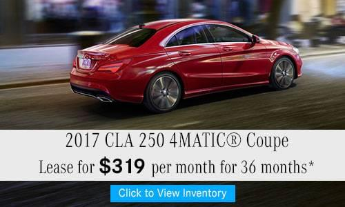 2017 CLA 250 4MATIC® Coupe