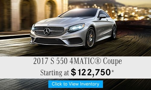 2017 S 550 4MATIC® Coupe