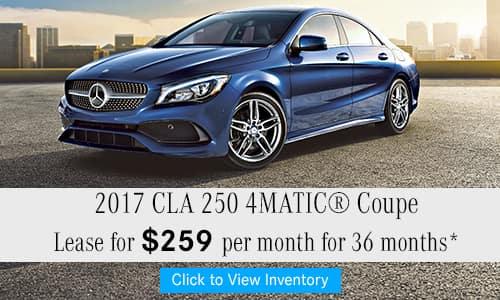2017 CLA 250 4MATIC® Coupe