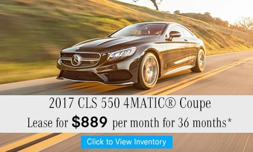 2017 CLS 550 4MATIC® Coupe