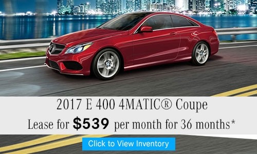 2017 E 400 4MATIC® Coupe
