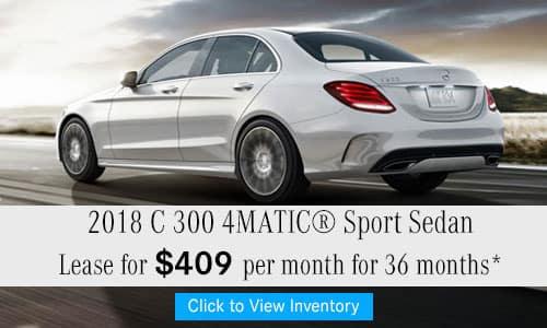 2018 C 300 4MATIC® Sport Sedan