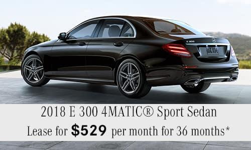 2018 E 300 4MATIC®