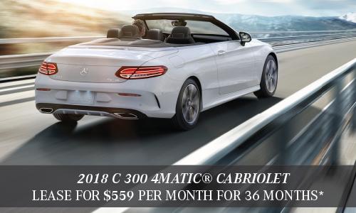 2018 C 300 4MATIC® Cabriolet