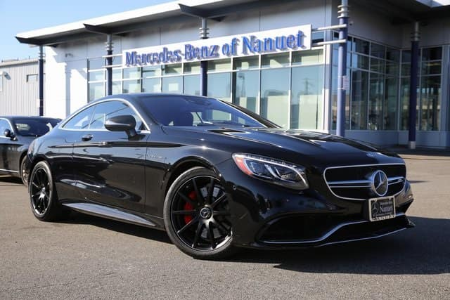 Certified Pre-Owned 2015 Mercedes-Benz S-Class AMG® S 63 Coupe 4MATIC® Coupe